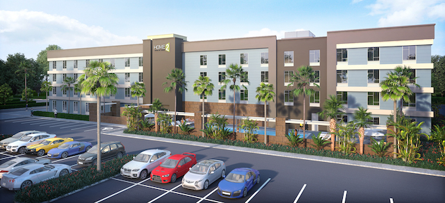 Ground breaking at the Home2Suites by Hilton in Naples, Florida